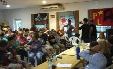 Moreno: Gran convocatoria contra la reforma laboral de Macri