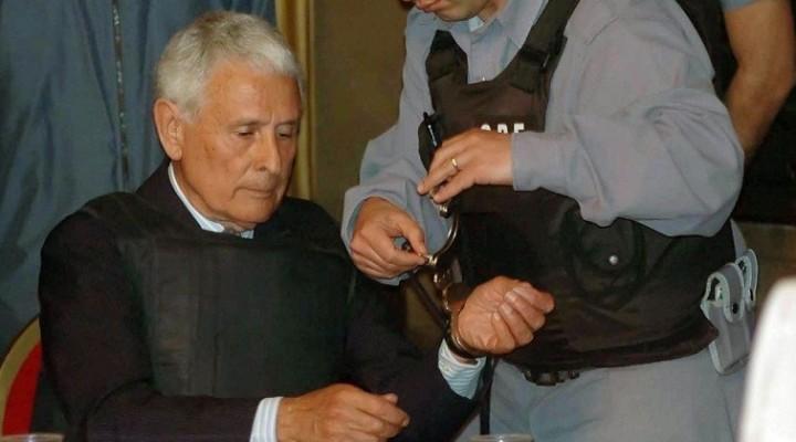 Etchecolatz ya está en la cárcel de Ezeiza