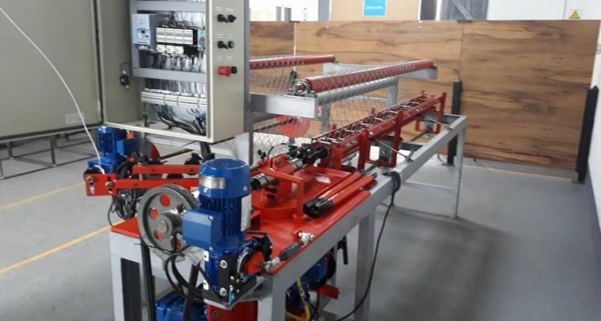 Gral. Las Heras: Instalan máquina para fabricar alambres olímpicos