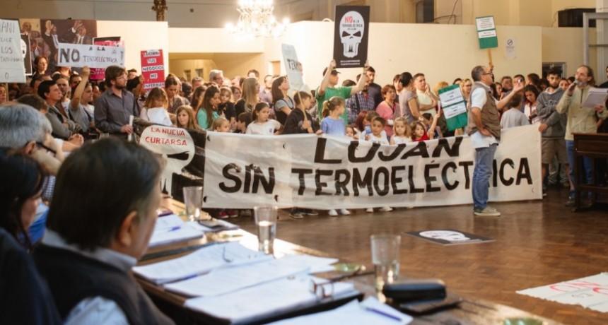 Luján: La oposición solicitó que se retire el expediente de la Termoeléctrica