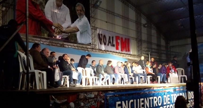 Moreno: El Movimiento obrero recordó la creación de la CGT de los Argentinos