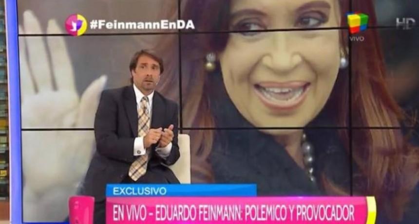 """Feinmann ofreció """"disculpas privadas"""", por la calificación de """"coimera"""" a CFK"""