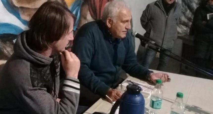 Moreno: Darío Villaruel presentó su libro y dejó fuertes declaraciones políticas