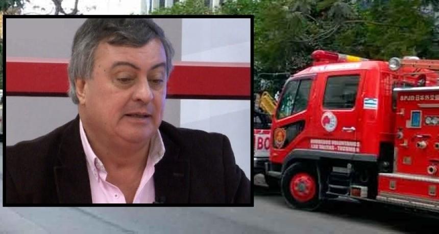 """Carlos Selva: """"Es ilegal que se transfieran menos fondos a bomberos"""""""