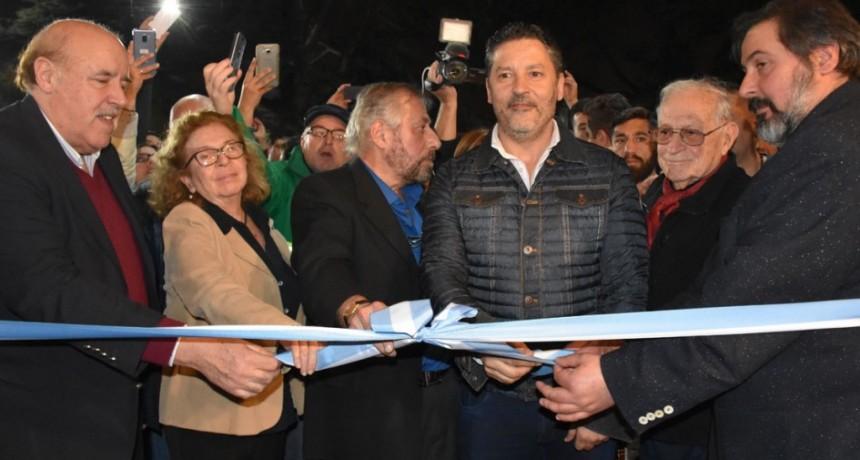 Merlo: Menéndez inauguró la Segunda Feria del Libro