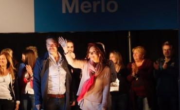 """Merlo: CFK reclamó """"convencer a todos aquellos que queremos construir una sociedad más feliz"""""""