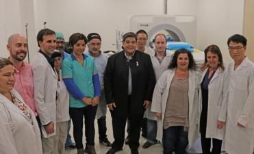 José C. Paz: Se realizó la primera operación Haifu en el Hospital Oncológico