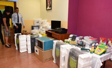 Ituzaingo: Refugio para víctimas de violencia de género recibió donaciones