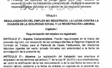 INFORME ESPECIAL: Te mostramos el borrador de la Reforma Laboral de Macri