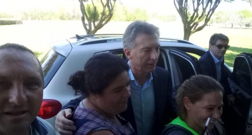 Luján: Macri estuvo 10 minutos y ninguneó al intendente Luciani