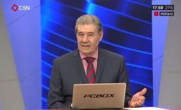 """Despidieron a Víctor Hugo de C5N, quien ironizó que era """"previsible"""""""