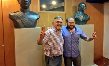 En el PJ de San Miguel acordaron Humberto Fernández y Juan José Castro