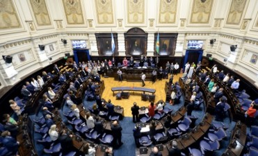 Juraron los diputados de la provincia y el oficialista Mosca fue reelegido como presidente