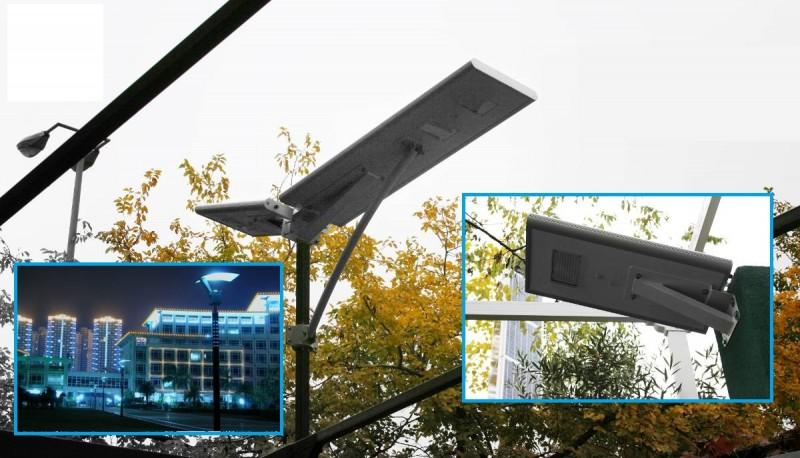 Empresa propone iluminación de la vía pública mediante energía solar