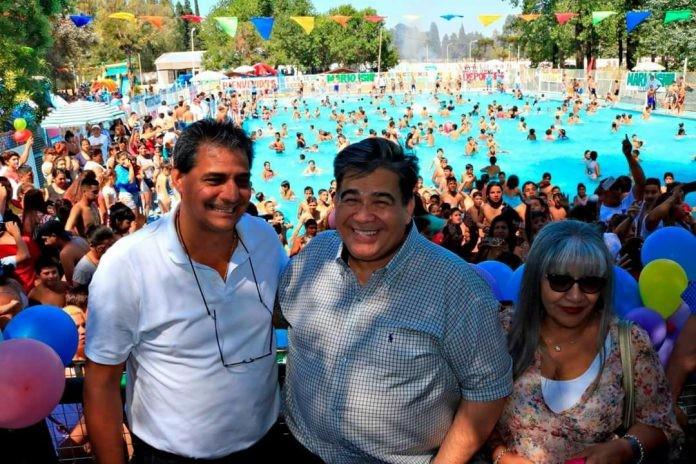 José C. Paz: Ishii y Pino inauguraron la 20ª temporada de la Colonia Municipal