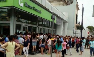 Trabajadores del Banco Provincia paran cuatro días contra la reforma de las jubilaciones