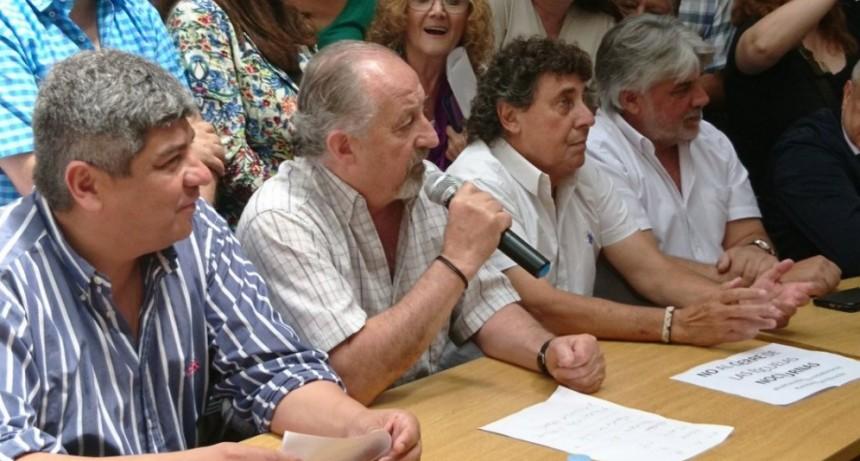 El Frente Gremial hará marchas en CABA, Rosario, Mar del Plata y Mendoza contra el tarifazo