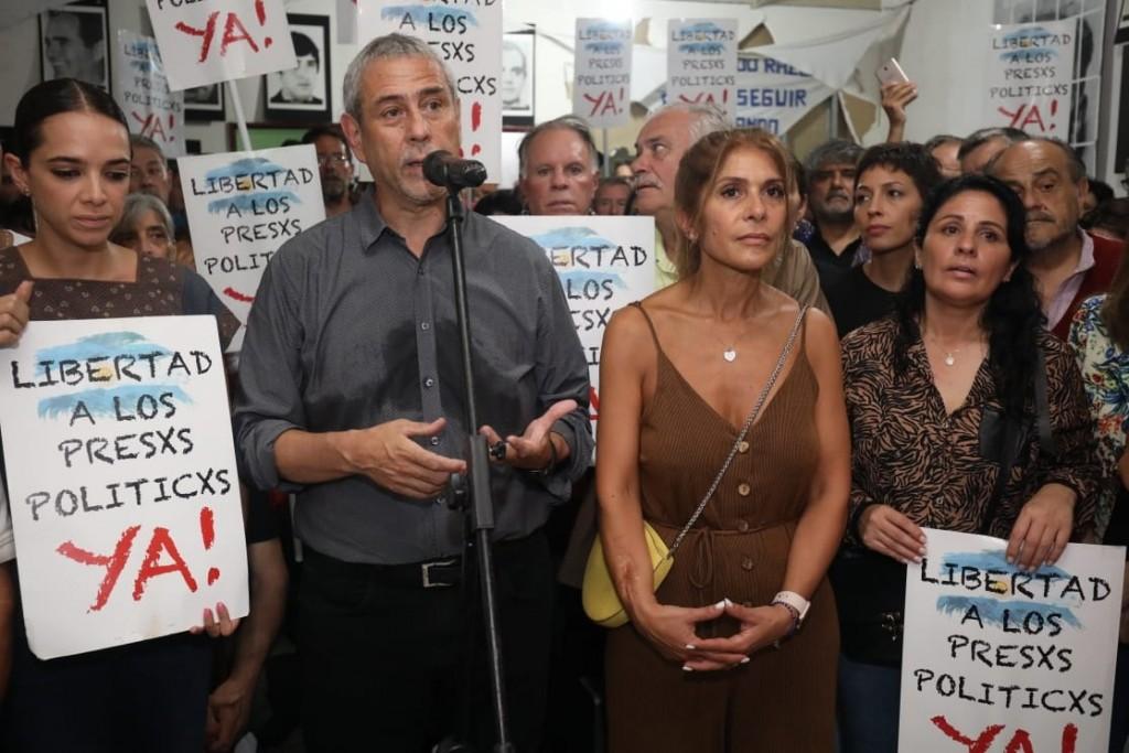 """Jorge Ferraresi: """"Nuestro compromiso es que no haya Nunca Más un preso político"""""""