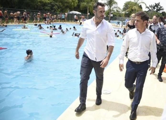 Kicillof inauguró junto al intendente Achával, las Escuelas de Verano 2020 en Pilar