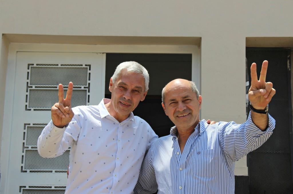 Secco y Cagliardi firmaron un convenio de cooperación entre Ensenada y Berisso