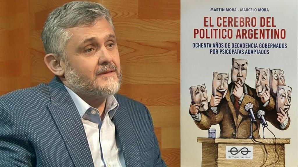 """Eduardo Mora: """"Los lectores van a identificar rápidamente a los psicópatas y se darán cuenta que la  mayor cantidad, los vamos a encontrar en la política"""""""