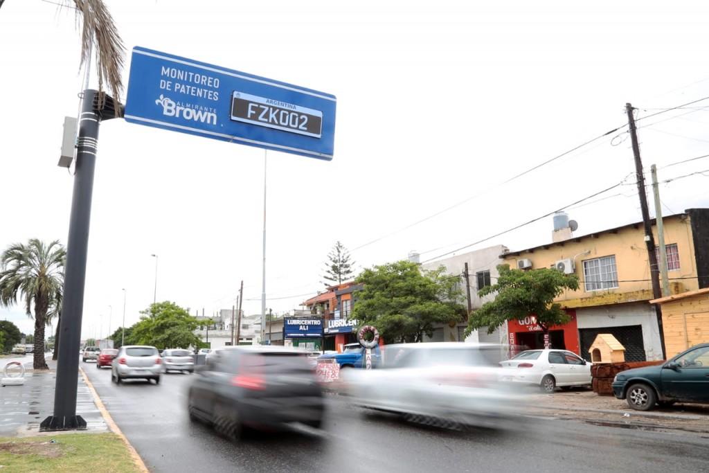 Almirante Brown: el municipio suma lectores de patentes para prevenir delitos