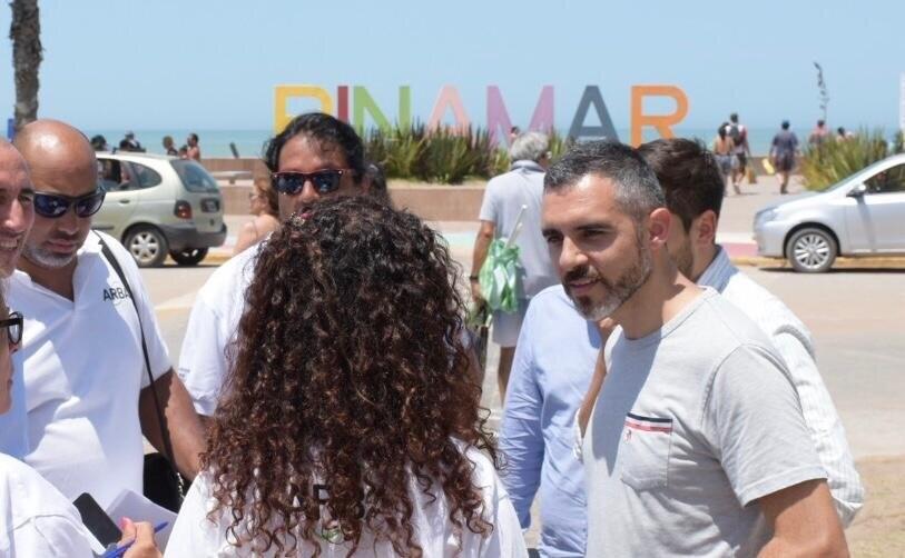 Girard coordinó las acciones de fiscalización que ARBA desarrolla en Pinamar