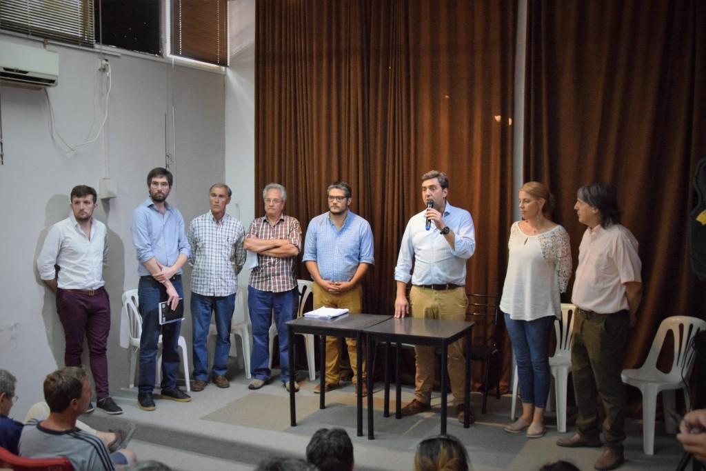 Luján: Primera reunión de las comisiones directivas de las Sociedades de Fomento
