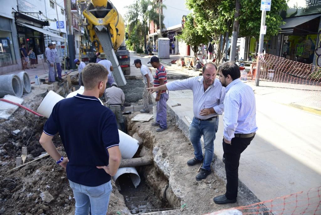 San Martín: El Municipio avanza con las obras hidráulicas