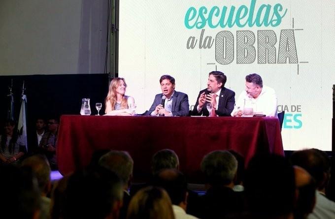 """Merlo: Kiciloff y Menéndez presentaron el Programa """"Escuelas a la Obra"""""""