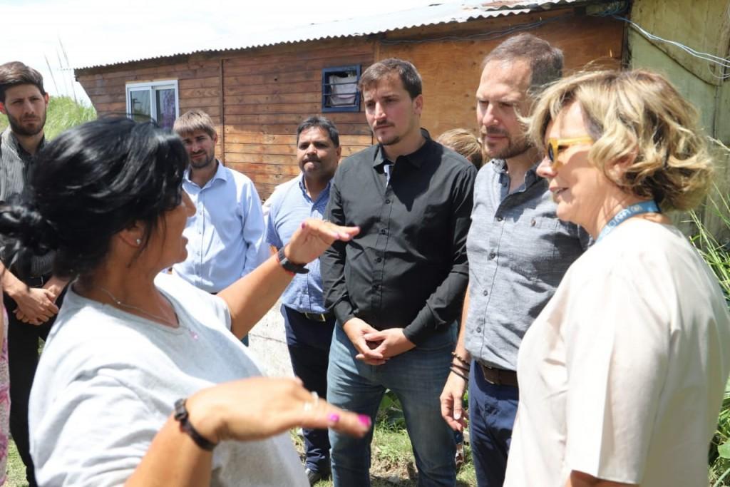 Avellaneda: Comienzan las obras de conexión a la red de agua potable en Villa Inflamable