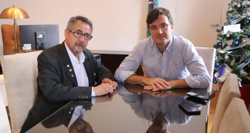 """Lucas Ghi advirtió que """"hay que reactivar el comercio local, una de las actividades más castigadas por la crisis económica"""""""