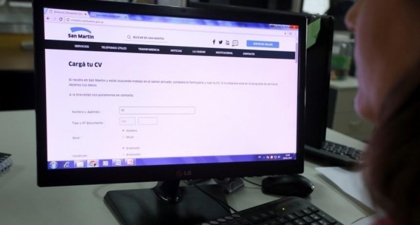 San Martín: A través de la Agencia de Empleo local, 669 personas consiguieron trabajo