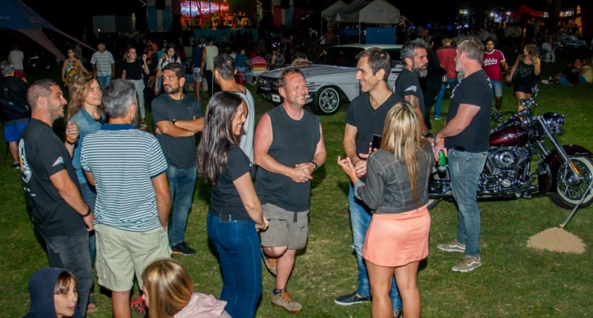 """Petrecca aseguró que """"el festival ´Actitud Rock & Bike´, impulsa el turismo. Es una opción más para elegir Junín"""""""