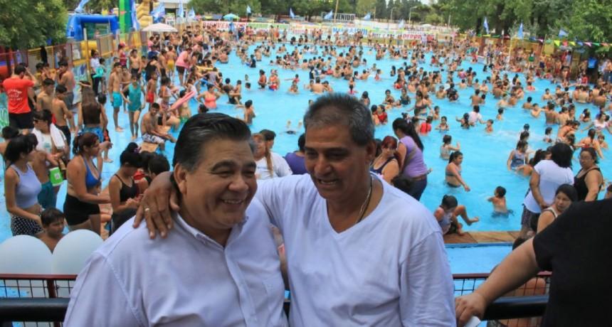 """José C. Paz: Ishii inauguró por 21° vez consecutiva la Colonia """"Por Muchas Más Caritas Felices"""""""