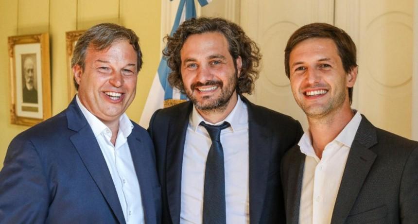 Mantegazza participó en Casa Rosada de la reunión por el programa Precios Cuidados