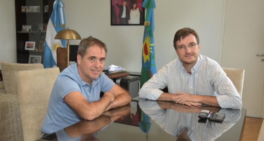 El intendente Lucas Ghi se reunió con Guido Lorenzino