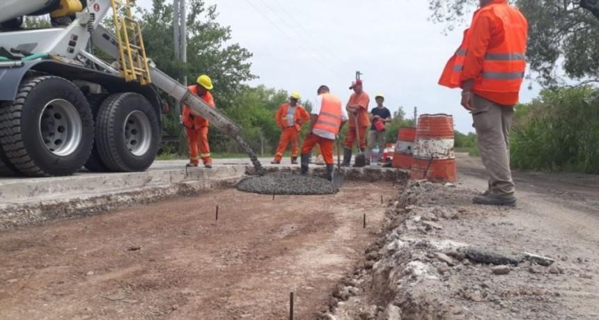 Escobar: El municipio continúa con obras viales en distintos barrios del distrito