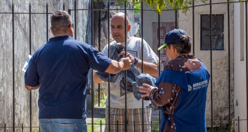 Berazategui: Prevención contra el Dengue en los barrios 12 de Octubre y Primavera
