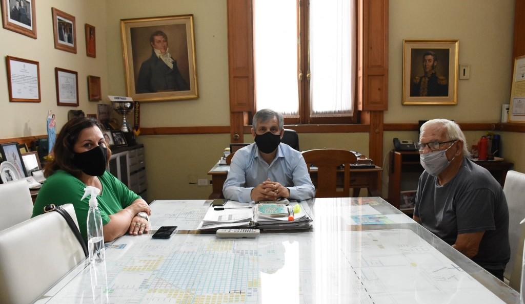 Chivilcoy: Reunión con el presidente provincial del Partido del Trabajo y el Pueblo, Mariano Sánchez