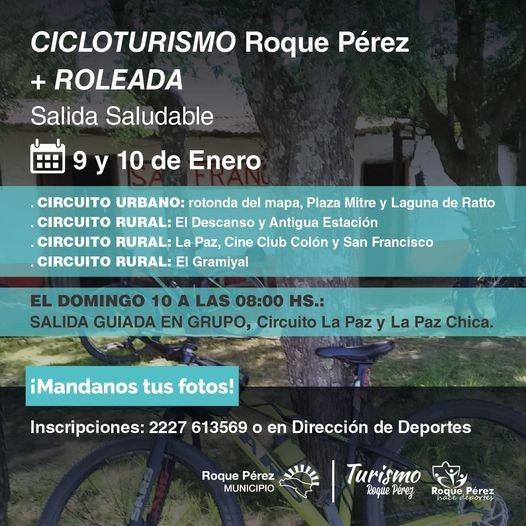 Roque Pérez: Se aproxima una nueva edición del cicloturismo RP