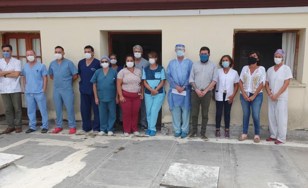 Azul: Médicos del Hospital Pintos expresaron su preocupación por la falta de vacunación contra el coronavirus