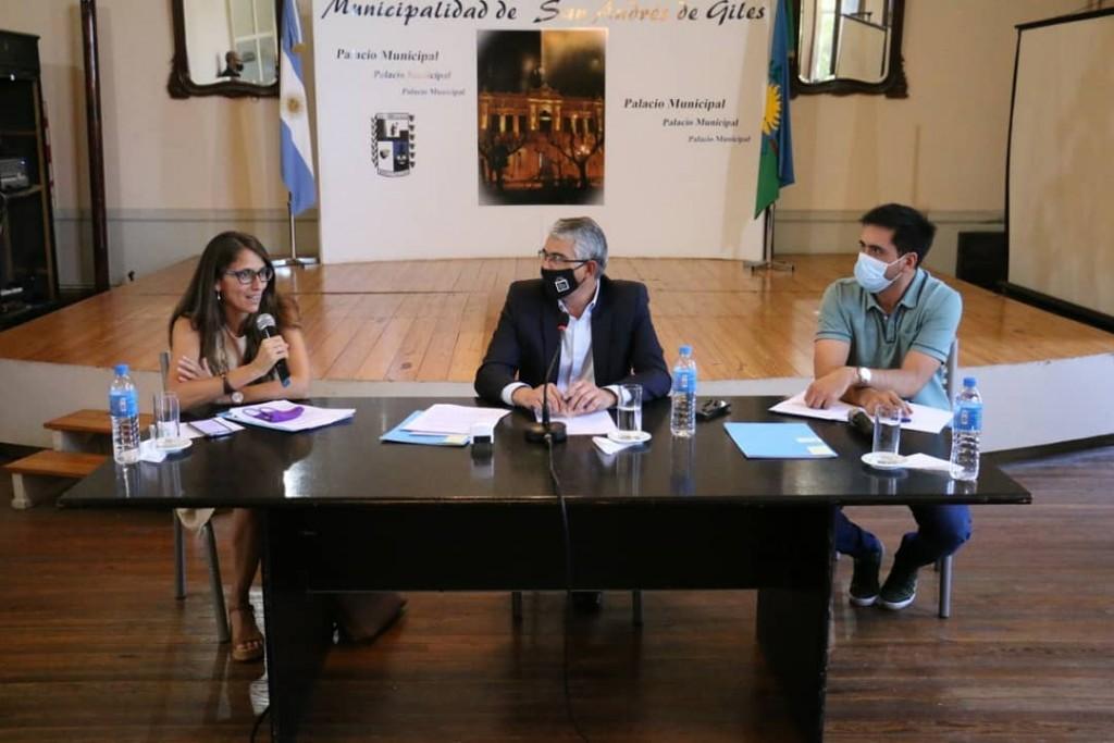 S. A. de Giles: La Ministra de las Mujeres, Géneros y Diversidad de la Nación firmó un convenio con el Municipio