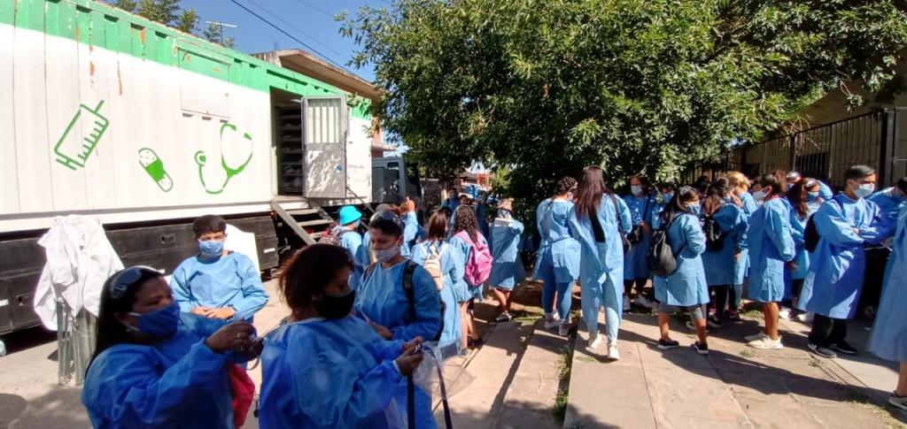 Pte. Perón: El Operativo que busca casos de Covid-19 estuvo en San Martín