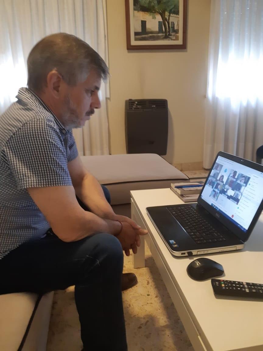Chivilcoy: Reunión virtual con el gabinete del Ministerio de Salud