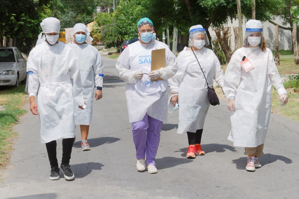 Berazategui: Continúa desarrollándose el DetectAR en los barrios del distrito