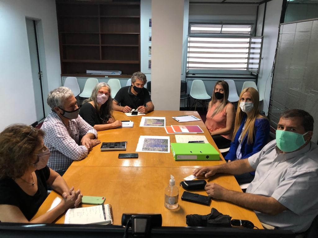 Zárate: Municipio participó de una reunión en el Ministerio de Hábitat de la Nación