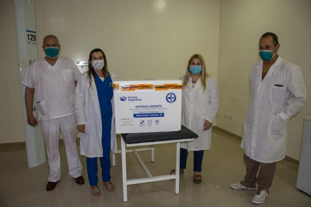 José C. Paz: Llegaron las vacunas contra el COVID-19 al distrito