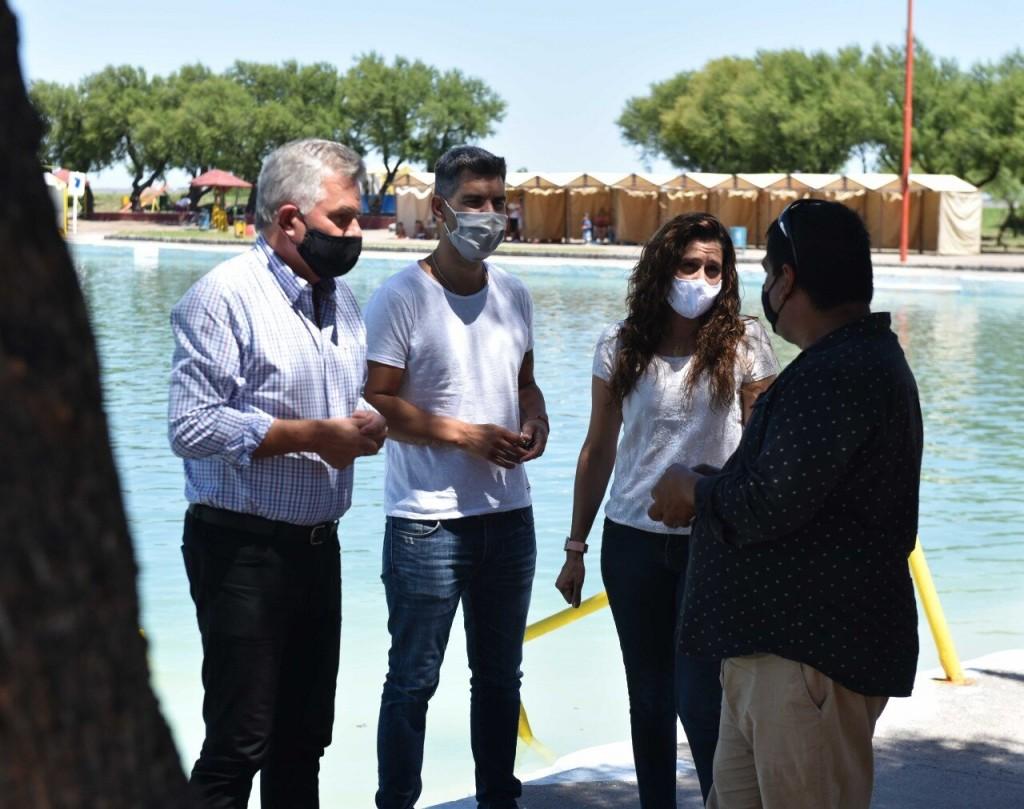 Bahía Blanca: El intendente visitó el Complejo Recreativo Maldonado