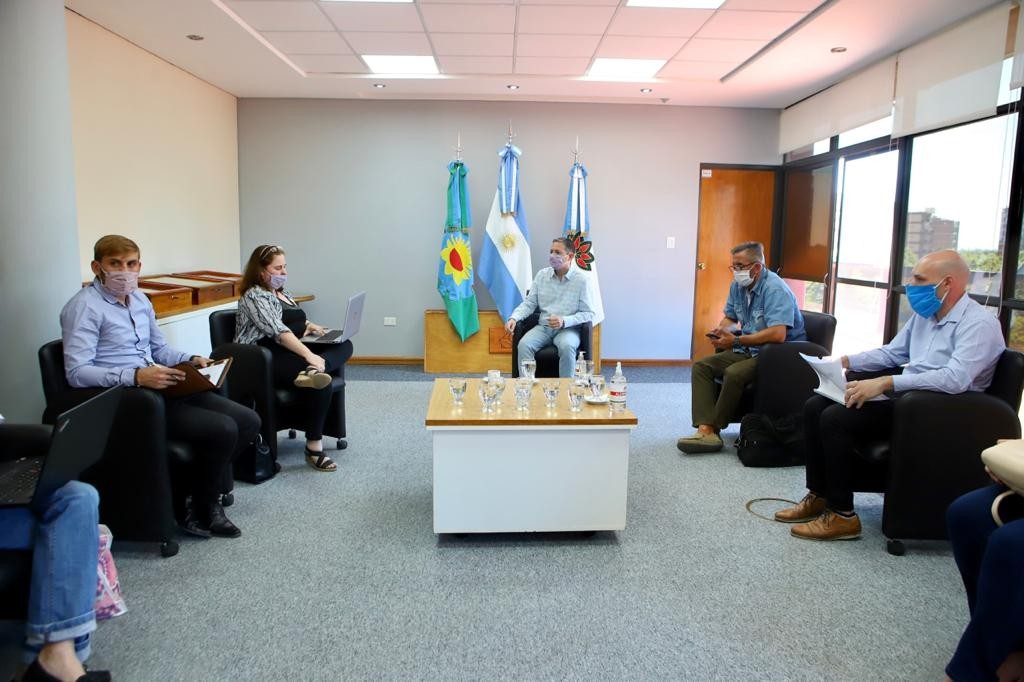 E. Echeverría: Fernando Gray se reunió con autoridades educativas de la provincia